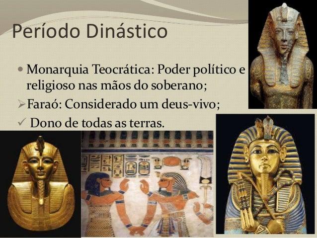 Médio Império (2.000aC- 1.580 aC)  Restabeleceu-se o poder do faraó;  Capital: Tebas;  Invasão dos hicsos (Carros de co...