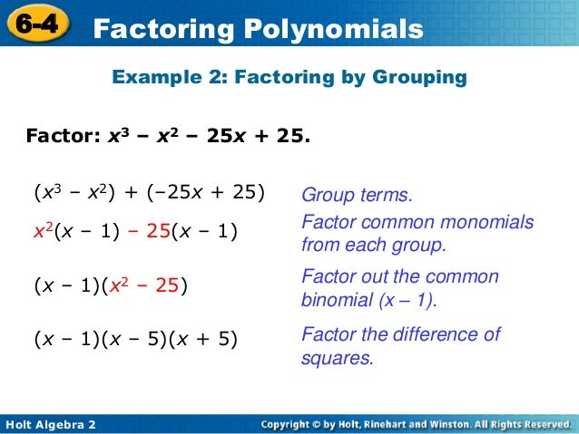 32 factoring polynomials – Factoring by Grouping Worksheet Algebra 2