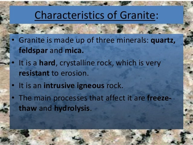 Granite What Is It And How Is It Formed