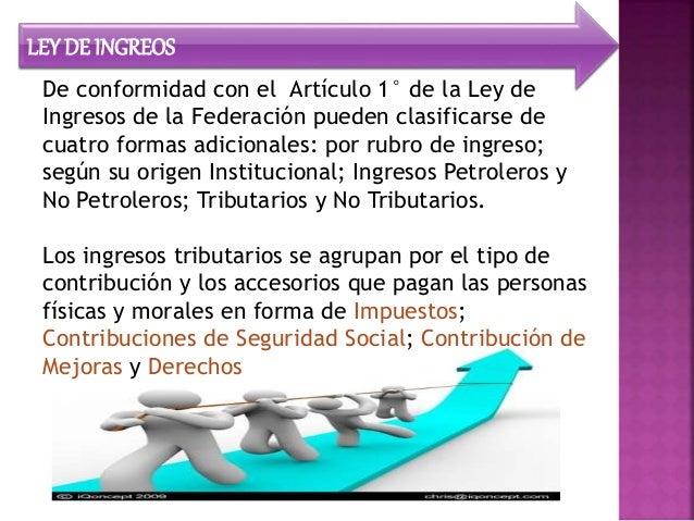 Unidad 3 - clasificaciónde los ingresos fiscales Slide 3