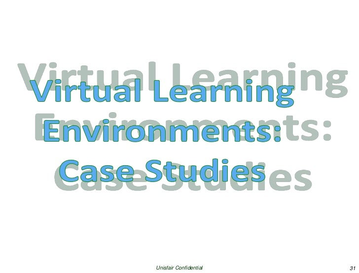 virtual learning environments Virtual environments and virtual communication tools can help in this datasheet, find out why the on24 virtual learning environment is being used by top companies to provide fresh, engaging, and cost-effective training programs for:.