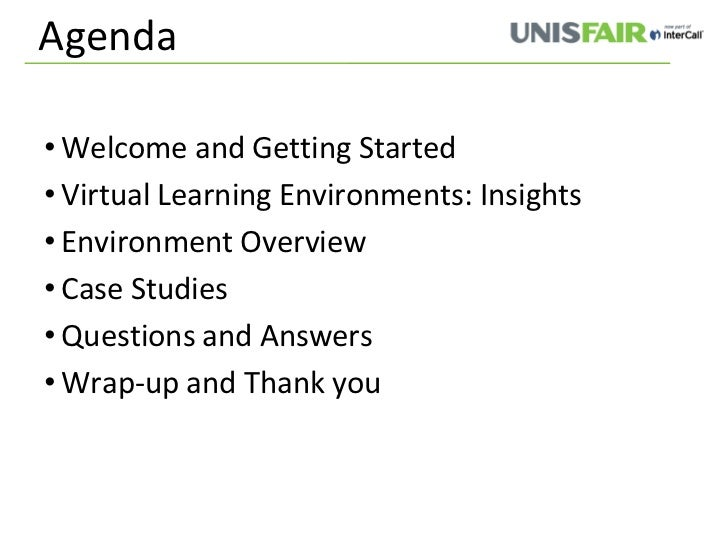 virtual learning environments Virtual learning environments ros o'leary introduction his document aims to give an overview of virtual learning environments – what they involve, how they can.