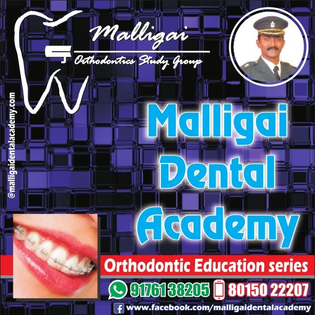 Orthodontic education for General Practitioner - 03 , Malligai Dental Academy