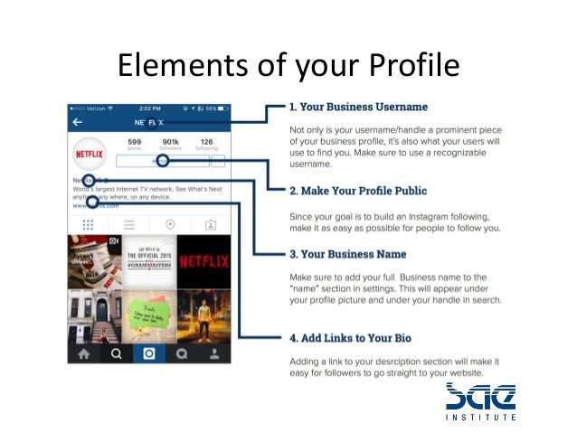 How to use instagram for business profile fill in your profile 8 ccuart Choice Image