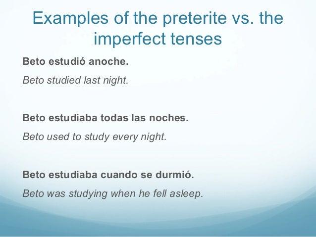 333 preterite vs imperfect – Preterite Vs Imperfect Practice Worksheets