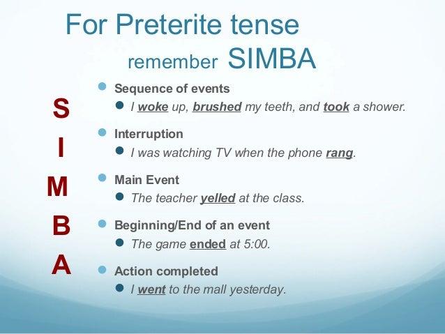 333 preterite vs imperfect – Imperfect Vs Preterite Worksheet