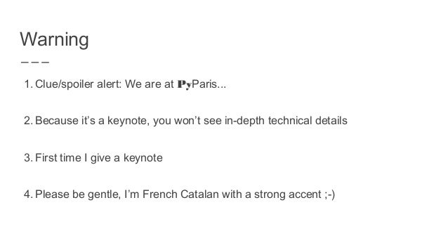 Is Python still production ready ? Ludovic Gasc Slide 2