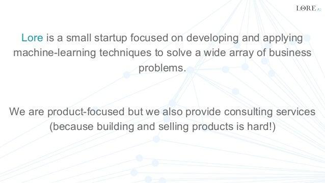 Building a high-performance, scalable ML & NLP platform with Python, Sheer El Showk Slide 2