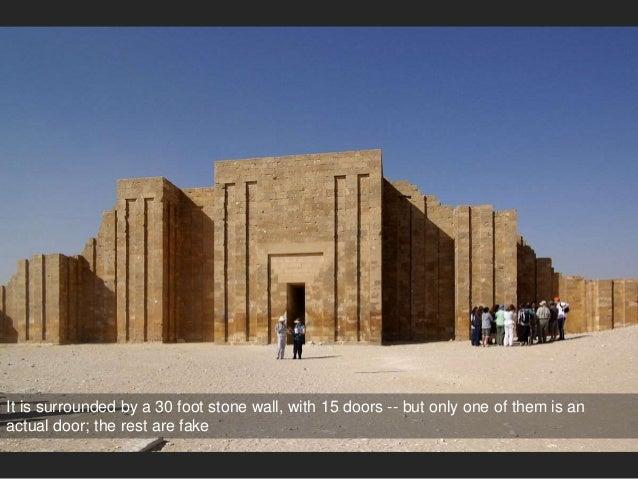 ... Stepped Pyramid; 32. & Old Kingdom Egypt: Royal Tombs