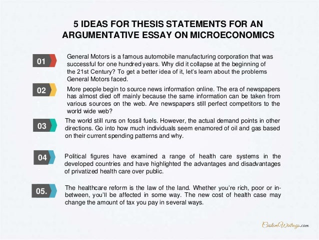 Complete Guide On Writing An Argumentative Essay On Microeconomics  Argumentative Essay On Microeconomics Find More Topics At  Customwritingscom