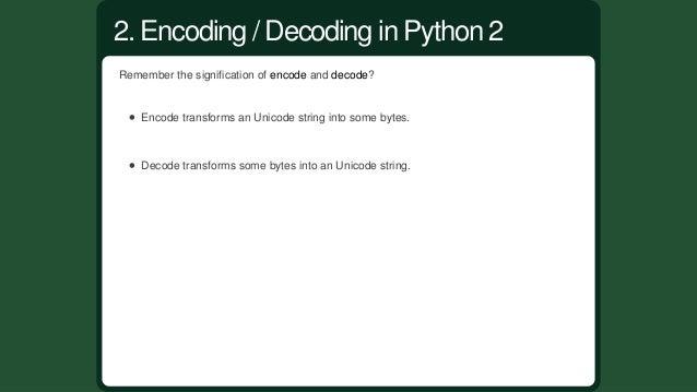 Python2alwayshadastringtypebutintroducedtheUnicodetypeinPython2.1. Python2strisbadlynamedasit'sbasic...