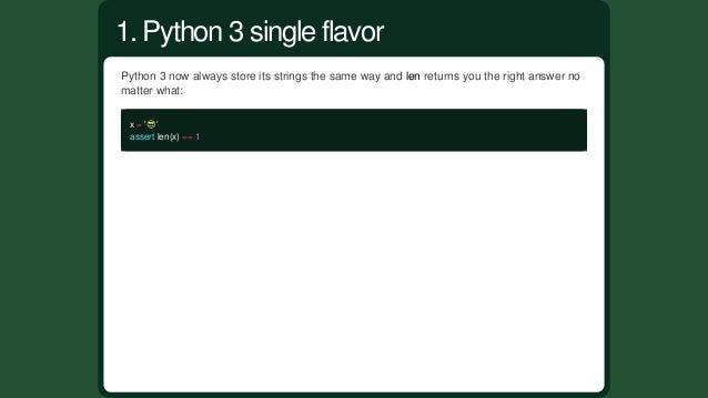 Python3biggestchangewastochangethetypesystemsofstrings. Bytes String Unicodestrings Python2 str unicode Pytho...