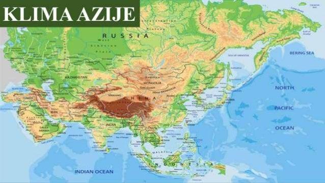 Klima Azije