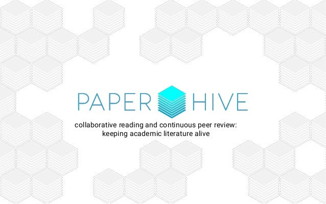 collaborative reading and continuous peer review: keeping academic literature alive