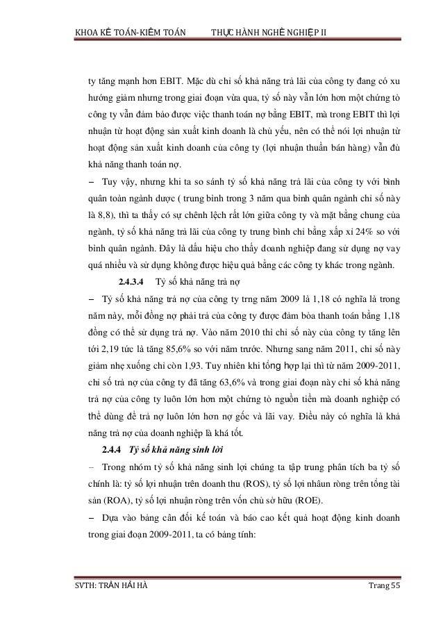Phân tích kết quả hoạt động kinh doanh công ty dược phẩm an thiên_Nhận làm luận văn Miss Mai 0988.377.480