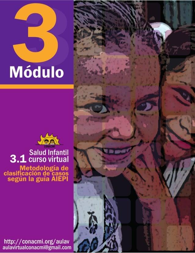 Salud infantil Curso virtual Módulo 3 Abordaje con enfoque de derechos Metodología de clasificación de casos según la guía...