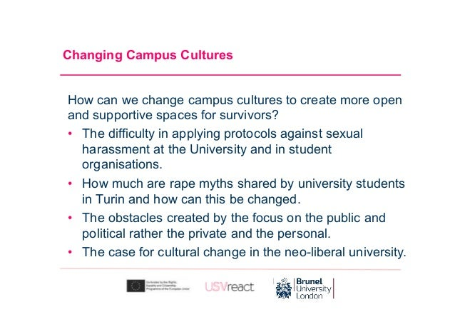Interactive Panel: Changing campus cultures to support equality and prevent violence. Slide 3
