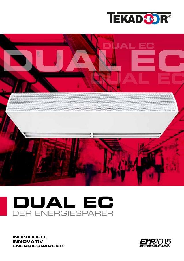 TEKADOOR - Dual EC - Der Energiesparer