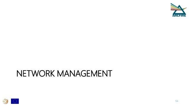 NETWORK MANAGEMENT 54