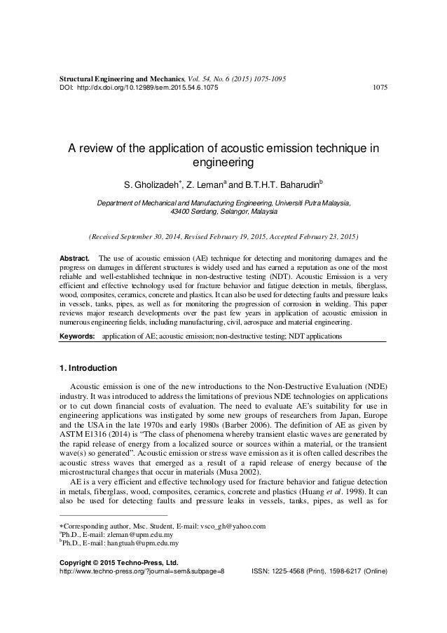 Structural Engineering and Mechanics, Vol. 54, No. 6 (2015) 1075-1095 DOI: http://dx.doi.org/10.12989/sem.2015.54.6.1075 1...