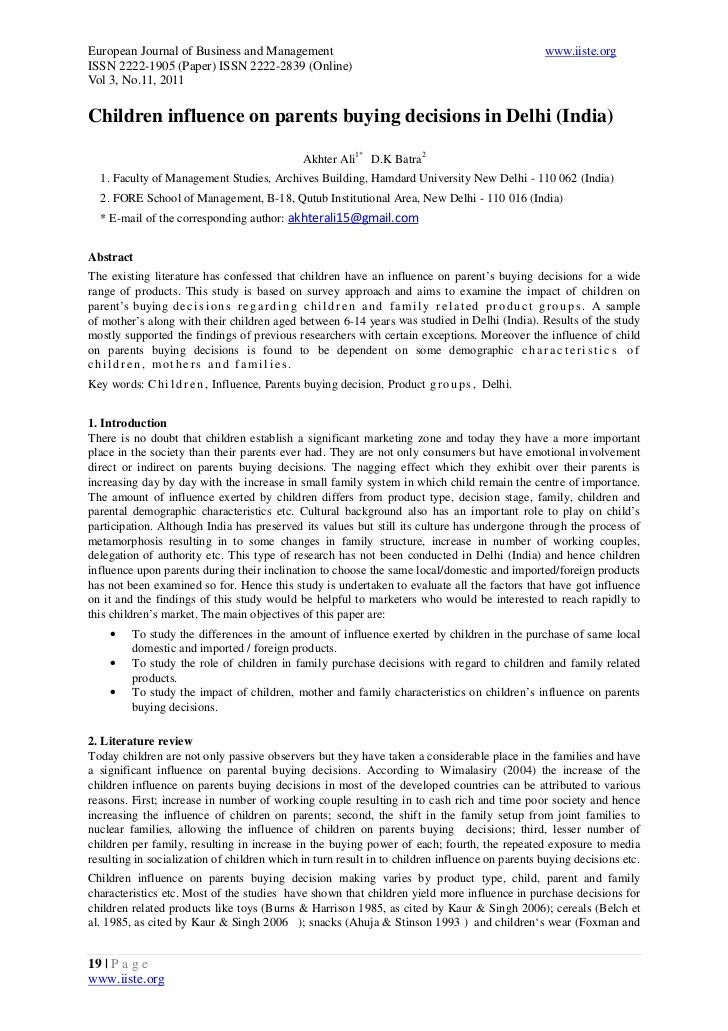 European Journal of Business and Management                                                                     www.iiste....