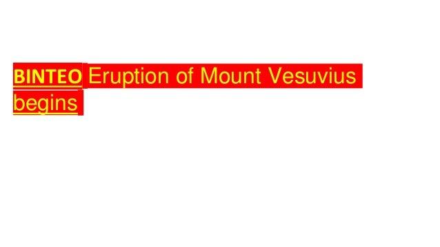 ΒΙΝΤΕΟ Eruption of Mount Vesuvius begins
