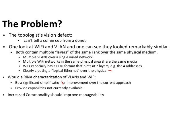 Unifying WiFi and VLANs with the RINA model Slide 2
