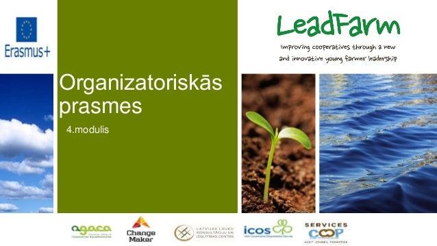 Organizatoriskās prasmes 4.modulis