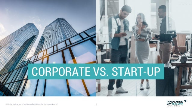 Is the start-up way of working really different than the corporate one (by Frederik Wouters) Slide 2