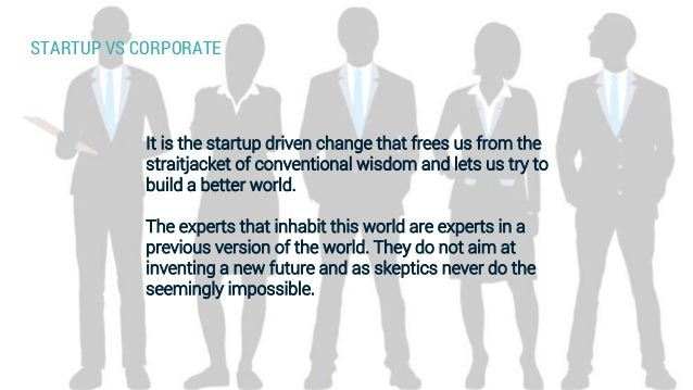Is the start-up way of working really different than the corporate one (by Frederik Wouters) Slide 3