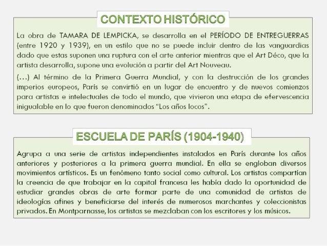 TAMARA DE LEMPICKA Slide 3