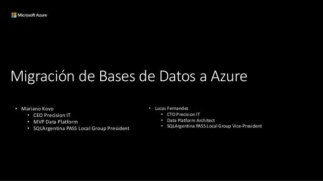 Moving your databases to Azure Slide 2