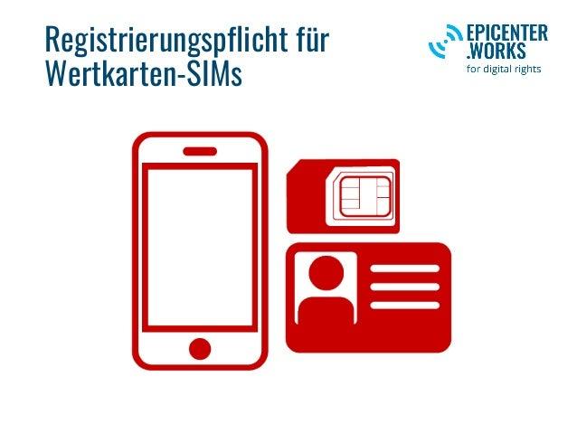 Registrierungspflicht für Wertkarten-SIMs