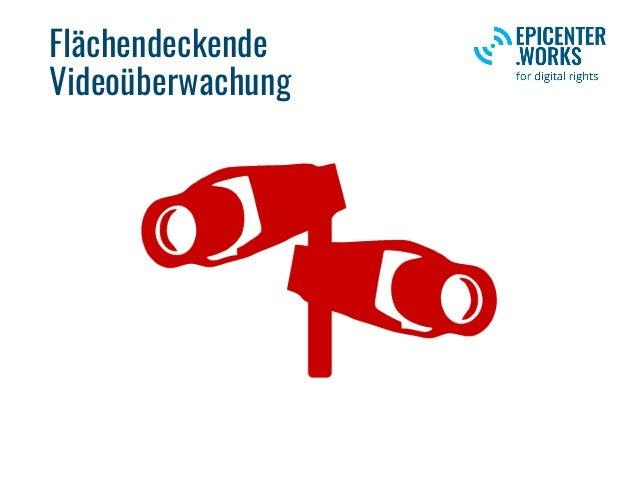 Flächendeckende Videoüberwachung