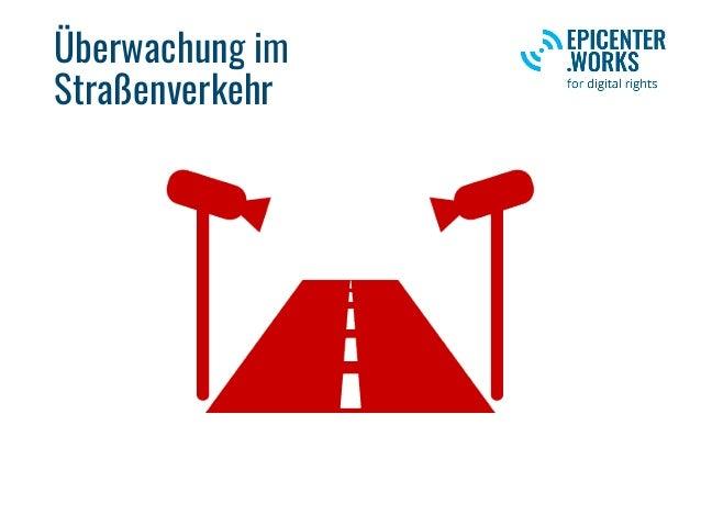 Überwachung im Straßenverkehr