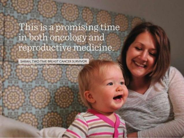 At the Front Lines of Fertility Preservation Slide 2