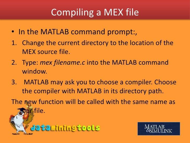 C,C++ In Matlab