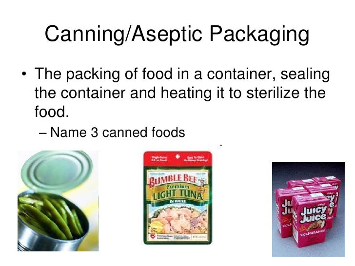 How To Sterilize Canned Foods
