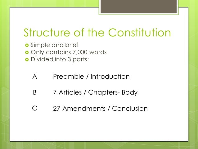 3 -1 structure and principles