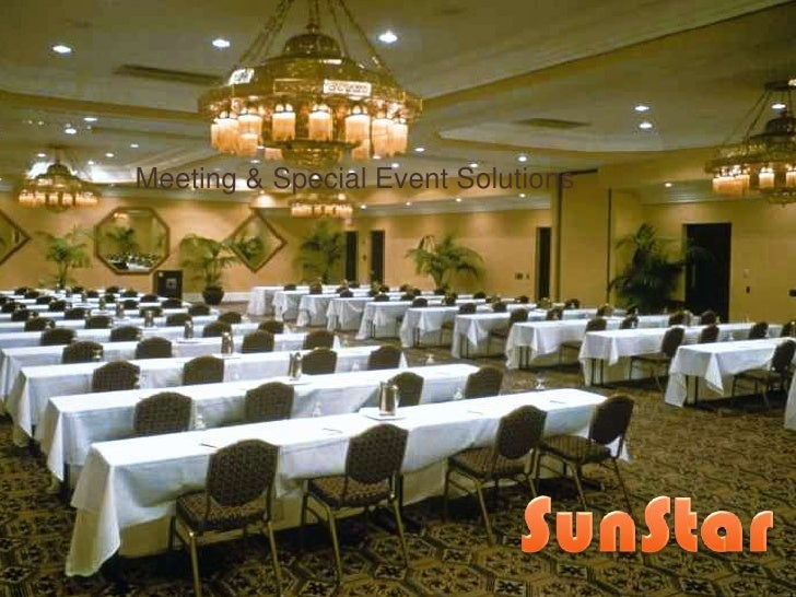 Meeting & Special Event Solutions