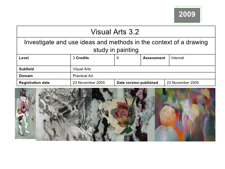 2009 23 November 2005 Date version published 23 November 2005 Registration date Practical Art Domain Visual Arts Subfield ...
