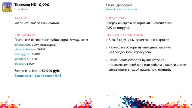 Теремок HD · 0,99$                     Александр БарсуковTura Media                             abarsukov@turamedia.ruЗАДА...