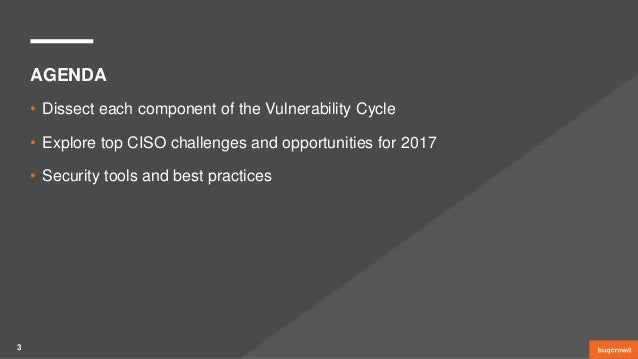 Breaking the Vulnerability Cycle—Key Findings from 100 CISOs Slide 3