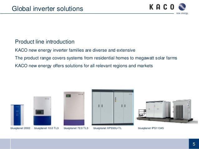 2014 pv distribution system modeling workshop communications and con global presence 5 5 product line introduction kaco new energy inverter