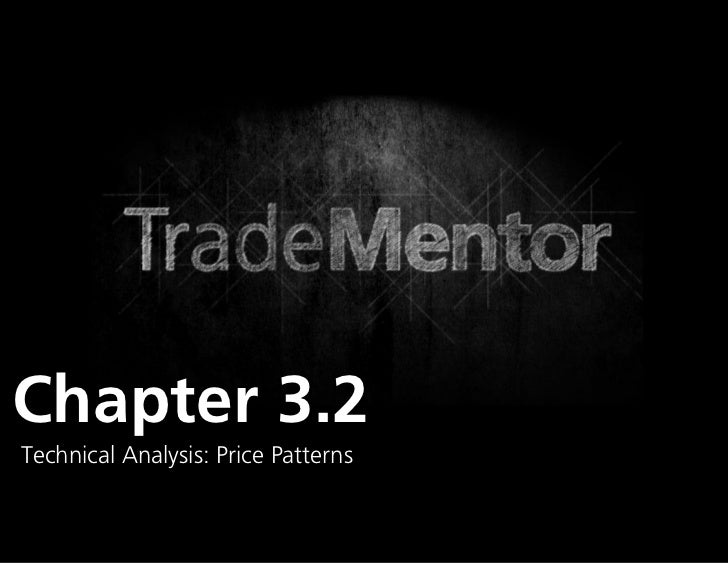 Chapter 3.2Technical Analysis: Price Patterns                                     0