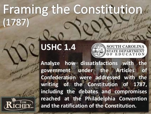 The U.S. Constitution: Framing, Principles, & Ratification