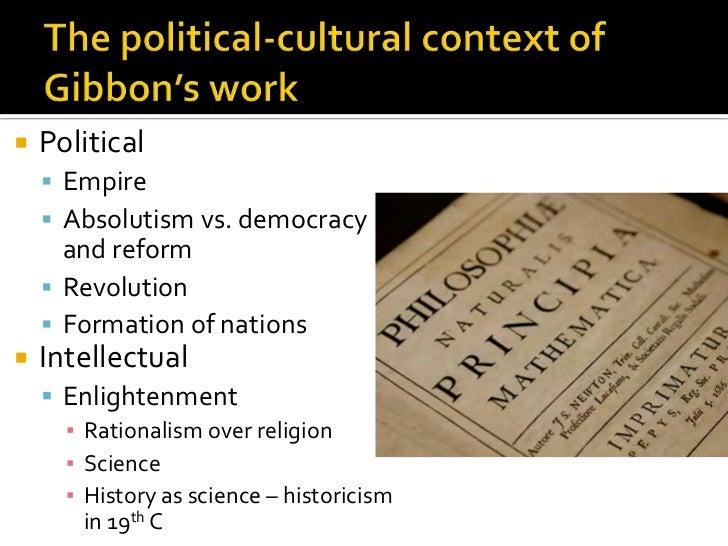 The decline and fall of the roman empire: Gibbon revisited Slide 3