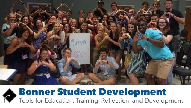 Bonner Student Development Tools for Education, Training, Reflection, and Development