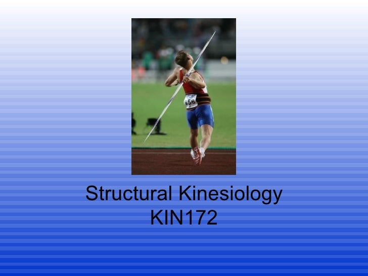 Structural Kinesiology KIN172