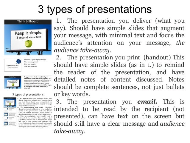 Kinds of powerpoint presentation